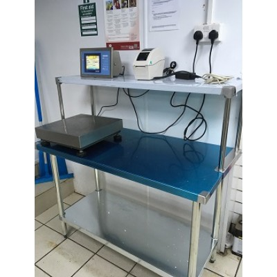 Industrial Touch Screen Labelling Scales