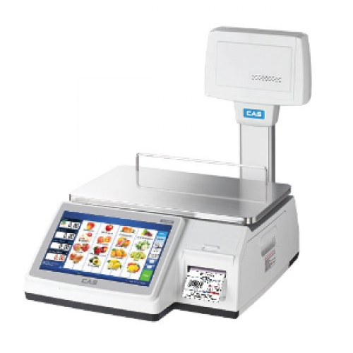 Cas 7200 Touch Screen Price Labelling scales From £1995