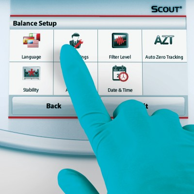 Ohaus Scout® Pro STX Touch screen Industrial counting scales
