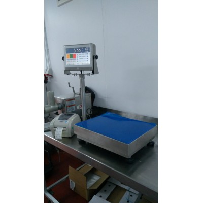 Touch Screen Labelling Scales