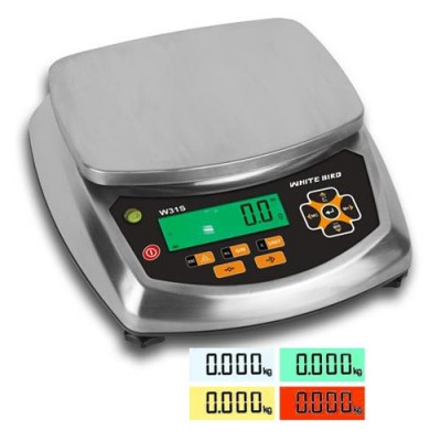 WB W31S  +/- Check Scales with colour display